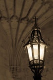 The old lamp - Oxford Christ College Royalty Free Stock Images