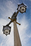 Old Lamp Post in Brighton Stock Photography