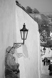 Old lamp in Prague Stock Photography