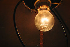 Old lamp. Retro style. Very charming Royalty Free Stock Photos