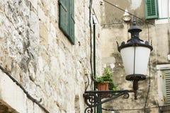 Old lamp in Split Royalty Free Stock Photos