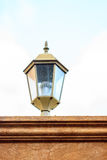 Old lamp on the wall Royalty Free Stock Images