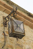 Old lamp on the wall Royalty Free Stock Photography