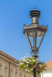 Old lamp in Zagreb Stock Photography