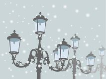 Old lamps Stock Images