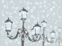 Old lamps Royalty Free Stock Photo