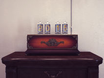 Old lamps the number of retro. Royalty Free Stock Images