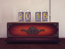 Old lamps the number of retro. Royalty Free Stock Photography