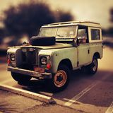 Old land Rover. Great old Land Rover vintage classic 4x4 Royalty Free Stock Photo