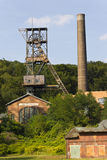 Old Landek coal mine Stock Photo