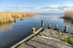 Old  landing stage at Achterwasser Stock Photography