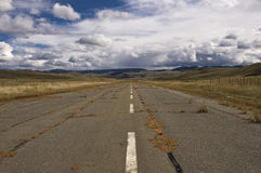 An old landing strip Stock Photography