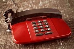 Old landline telephone Stock Image