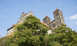 Old landmark in Quedlinburg Royalty Free Stock Photography