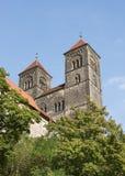Old landmark in Quedlinburg Stock Images