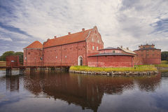 Old Landskrona citadel buildings Stock Image
