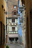 Old lane in Strasbourg, France Stock Image