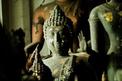 Old Lanna Buddha statue Stock Images