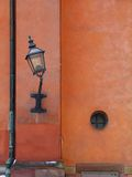 Old lantern. In stockholm, sweden Royalty Free Stock Images