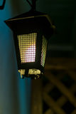 Old lantern in a dark alley Royalty Free Stock Photo