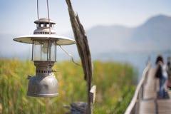 Old lantern. In kanchanaburi, Thailand Royalty Free Stock Image
