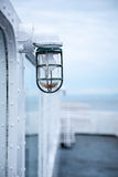 Old lantern light on a ship Royalty Free Stock Image