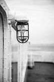 Old lantern light on a ship Royalty Free Stock Images