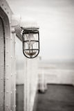 Old lantern light on a ship Royalty Free Stock Photography