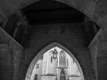 The old lantern in Marienburg Castle, Germany Royalty Free Stock Image