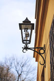 Old lantern on the street of Krakow Royalty Free Stock Photo