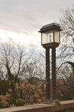 Old lantern at Upper town, Zagreb, Croatia Royalty Free Stock Photos