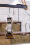 Old Lantern - Vintage Lamp - Manta - Ecuador Stock Images