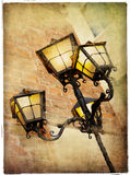 Old lanterns Stock Images