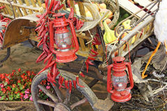 Old lanterns Royalty Free Stock Photos