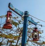 Old lanterns Stock Photo