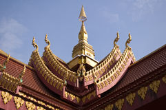Old laos  temple Stock Photography