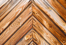 Old Larch Planks Royalty Free Stock Photography