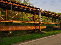 Old large ironworks Royalty Free Stock Photo