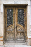 Old large wooden doors Stock Photography