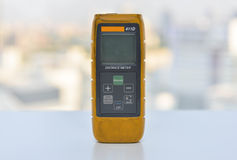 Old Laser Distance meter Royalty Free Stock Images