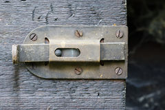 Old latch Royalty Free Stock Image