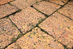 Old Laterite floor Royalty Free Stock Image