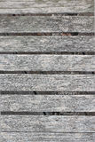 The old lath. Slat floor that looked very old Royalty Free Stock Image