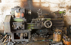 Old lathe Royalty Free Stock Photography