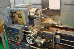 Old Lathe Royalty Free Stock Photo