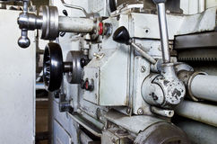 Old lathe Royalty Free Stock Images