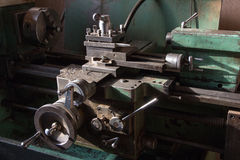 Lathe machine Royalty Free Stock Image