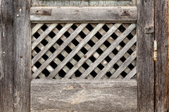 Old lattice of the window. For Background or Texture stock photo