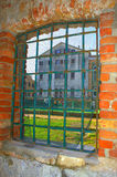 Old lattice window Stock Photography