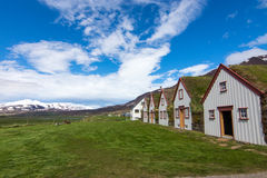 The old Laufas farm in Iceland Royalty Free Stock Photos